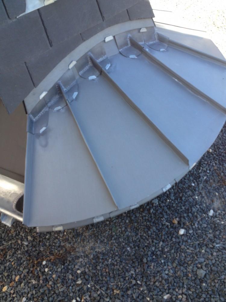 Bardage industriel bois et composite charpente for Couverture en zinc joint debout