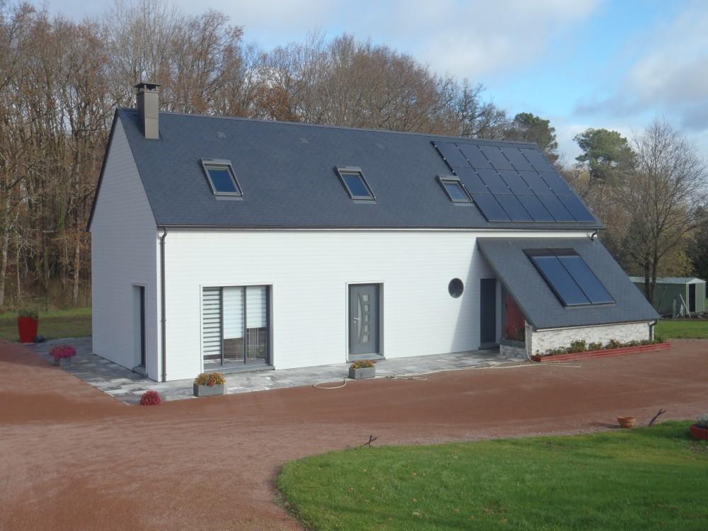 plan maison ossature bois toit plat top wwwbooafr montage en une journe duune maison ossature. Black Bedroom Furniture Sets. Home Design Ideas